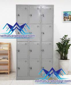 Tủ sắt locker 12 ô LK12 thanh lý