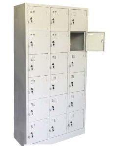 Tủ sắt locker 18 ô LK18 thanh lý