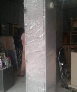 Tủ sắt locker 6 ngăn 1 cột thanh lý