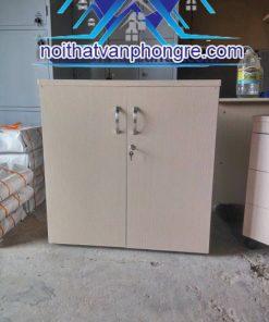 Tủ thấp gỗ 2 cánh thanh lý